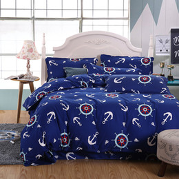 Wholesale Free Quilt Fabric - Wholesale-Uniome NEW Hot!!!Free Shipping Reactive Printing BEDDING Bedding Set pillowcase queen king size QUILT COVER BED SET