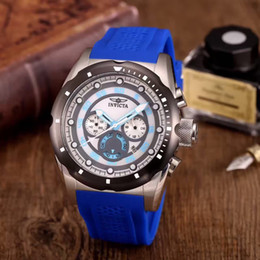 Wholesale Sand Effect - 8023 NEW invictas to watch dial with luminous effect of sand does not fade very man a complete original box fashion watches