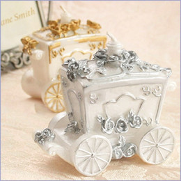 Wholesale Car Candles - White Pumpkin Car Candle For Wedding Party Birthday Souvenirs Gifts Favor Creative Style Design Candle Sets Gift