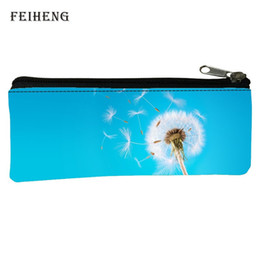 Wholesale Gift Bags Retail - Wholesale- Retail 2016 Fashion Oxford Prints Fresh Baby Boys Gifts Black Teenagers Key Wallets Womens Coin Purses Kids Pen Bags