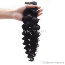 Wholesale Cheapest Perfume Wholesaler - 8A brazilian hair extension cheapest brazilian wavy hair perfumes originals remi hair weave cabelo humano brazilian deep wave 3,4,5pcs lot