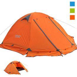 Wholesale Door Skirt - Camping tent 2 person Beach Tourist tents 4 seasons waterproof outdoor recreat fishing camping equipment Snow skirt FLYTOP