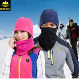 Wholesale Plain Scarve - Fleece Winter Hat Windproof Hiking Cap Hiking Hat Head Scarve Face Mask Men Fleece Hat Riding Cap Cycling Headgear Hood