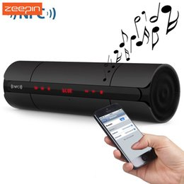 Wholesale Bluetooth Se - Wholesale- Portable KR8800 NFC FM HIFI Wireless Bluetooth Speaker Stereo Loudspeakers Super Bass Caixa Se Som Sound Box Hand Free for Phone