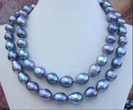 2019 enorme collar de perlas barrocas del mar del sur ENORME 32