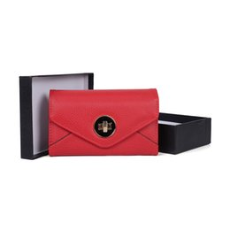 Wholesale Chocolate Phone - Mini Casual Lady Clutch Bag Wallets Holders Gift Box Women Dress Hasp Fashion Phone Bag Credit Card Package VKP1492
