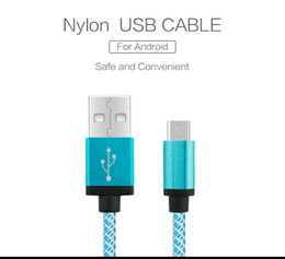 Wholesale Lenovo Phones For Sale - Hot-sale Micro USB Cable 5V 2A Quick Charge Metal Braided Cord Data Sync Wire For Samsung Galaxy HTC Lenovo Huawei Phone Microusb