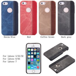 Wholesale Iphone 5g Protection Case - For IPhone 5G 6G 7 Case Cowboy Style Back Cover Case Ultra-thin TPU Hard Protection Case Phone Shell
