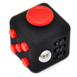 Wholesale Plastic Dice Toy - 2017 Hot Sale Fidget Cube Decompression Cube Dice Shape High-quality Goods Educational Creative Toys
