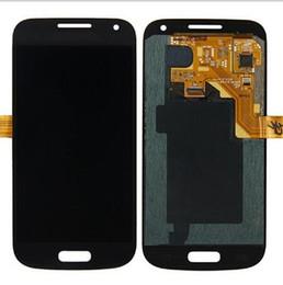 Супер AMOLED ЖК-дисплей с сенсорным экраном дигитайзер для Samsung S4 Mini I9190 I9192 I9195 телефон ЖК-дисплеев с закаленным стеклом и наклейкой от Поставщики s4 мини-экран с сенсорным экраном