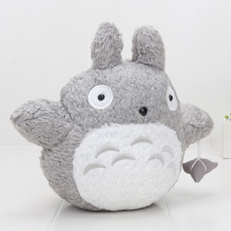 Wholesale Chinchillas Plush Toys - 25cm Lovely Totoro chinchilla Plush large plush toy gift My Neighbor TOTORO plush toys EMS for Kids