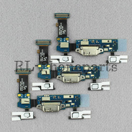 Wholesale Docking Keyboard - DHL 100pcs lot Sensor Keyboard Micr For Samsung Galaxy S5 G900A G900T G900V G900P USB Charger Dock Charging Port Connector Flex cable ribbon