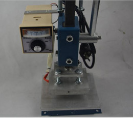 Wholesale Hot Stamping Printer - Manual Hot Foil Stamping Machine PU Leather Printer Creasing Embossing Machine 5x7cm