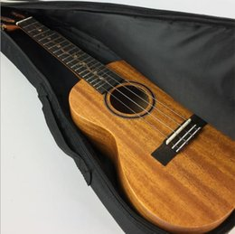 Wholesale Pack Guitar - Musical Instrument Pack ukulele Yukeli Liqin Guitar Bag 21 inch 23 inch 26 inch UK plus cotton shoulder embroidery backpack