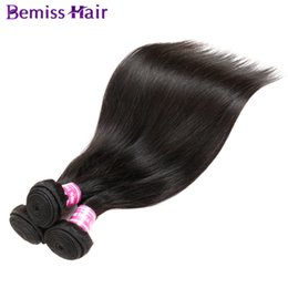 Extensões remy baratas do cabelo on-line-Indiano Virgem Do Cabelo Humano Peruano Weave Extensões Feixes de Cabelo Malaio Brasileiro Em Linha Reta Cor Natural Não Transformados Barato de Alta Qualidade