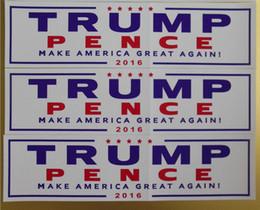 Etiquetas da cor do carro on-line-Novo Design Decalques Do Carro Donald Trump para Presidente Faça A América Grande Novamente Adesivo Exterior Acessórios 2 Cor 76 * 229mm