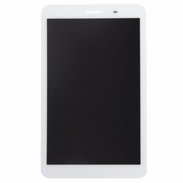 2019 monitor vetro touch screen All'ingrosso- Per Huawei Honor S8-701 S8-701U Tablet Nuovo Full White LCD Monitor schermo + Digitizer Touch Screen Panel Glass Assembly sconti monitor vetro touch screen