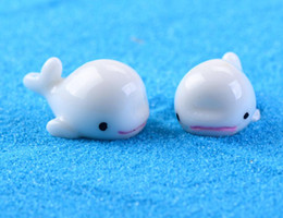 Wholesale Acrylic Craft - 100pcs Resin Dolphin Miniatures Landscape Accessories For Home Garden Decoration Scrapbooking Craft Diy