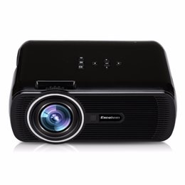 Wholesale manual atv - Wholesale-Hot Excelvan EHD01 Portable Multimedia LCD Projector 800x480 pixels 1500 lumens Home theater HDMI USB VGA AV ATV SD Proyector