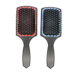 Wholesale Paddle Balls - Detangling Hair Paddle Brush Ball Tip Nylon Teeth Do Good To Scalp Air Cushion Head Massage Comb For Wet And Dry Hair