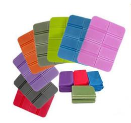 Wholesale Folding Foam Mats - Foam XPE Foldable Folding Seat Cushion Portable Waterproof Picnic Mat Pad The latest upgraded version Random Colors