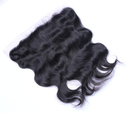 Wholesale Indian Remy Full Lace - Brazilian Mongolian Malaysian Peruvian Indian 13*4 Body Wave Lace Frontal Human Virgin Remy Full Head Unprocessed Hair Extensions