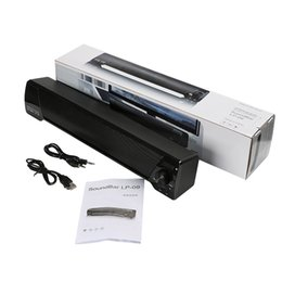 LP-09 Soundbar HIFI Box 10 W USB Portable Lecteurs Audio Bluetooth Haut-Parleur avec FM Colonne Barre Sonore Pour Petit TV Smart Téléphone MIS152 ? partir de fabricateur