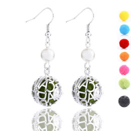 Wholesale Dangle Charm Alphabet - Exquisite Openwork Earring Attractive Charms Pendant Earring For Women Party Accessory Halloween Christmas Gift 2 Styles B393Q
