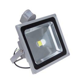 Wholesale Pir Led Floodlight New - New PIR Motion Sensor LED Floodlight 10W 20W 30W 50W Outdoor Warm White Cold White Light Waterproof IP65 Landscape Lamp