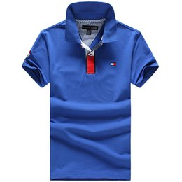 Wholesale international brand men s brand Polo shirt Polos men s short sleeve casual shirt polo suit golf classic style