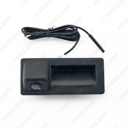 Wholesale Vision Reverse Camera - FEELDO Car Trunk Handle CCD Reverse Camera Night Vision Rearview Camera for Audi A4L A5 S5 Q3 Q5 A8 #2064