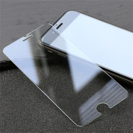 Wholesale iphone 5g screen protector - Tempered Glass Screen Protector For iPhone 6 7 8 Plus X 5S 5G 5SE 5C Samsung Galaxy S8 S9 Plus Screen Clear Film Protection with 9H Hardness