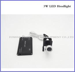 Wholesale Loupe Lamp Black - Clip-on headlights Portable Black Head Light Lamp for Dental Surgical Medical Binocular Loupe
