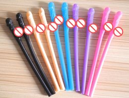 Wholesale Penis Straws - Hen Party Willy Straws Sex Products Dicky Jok Straw Event Bachelorette Party Supplies Drinking Penis Straws hape gift