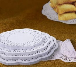 Wholesale Lace Paper Doilies Vintage - (6 Sizes)1000 Pcs Lace Paper Doilies Cake Placemat Craft Vintage Coasters