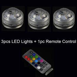 led más pequeño con pilas Rebajas Nuevo colorido 3pcs / lot pequeña batería con pilas LED vela con larga duración brillante luz sin llama LED conjunto de velas con control remoto
