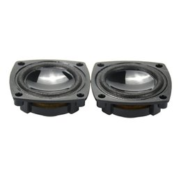 Wholesale Car Theater - Wholesale- 2Pcs 1.5Inch 4Ohm 5W Neodymium Full Frequency Speaker Loudspeaker For Car Stereo Home Theater Audio Speakers