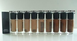 Wholesale Nw Liquid Foundation - FREE SHIPPING NEW top quality m brand NC NW MATCHMASTER liquid foundation SPF15 35ML 1PCS