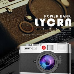 Wholesale Large Usb External Battery - Remax RPP-31 Camera Power Bank Backup Dual USB Fast Charger Portable External Battery Large Capacity 10000mAh for Mobile Phone get Retailbox