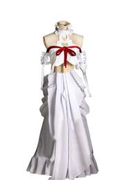 Wholesale Yuuki Asuna Cosplay - Malidaike Movie Figure Women's Sword Art Online ALO Cosplay Costume Asuna Yuuki Dress