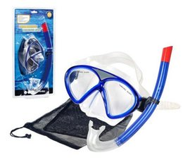 Wholesale Children Snorkel - 2015 Free shipping Winmax New Fashion Silicone Diving Set including Diving Mask and Snorkel for Children