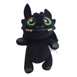 Wholesale Toothless Plush Stuffed Animal - 30cm Night Fury Plush Toy How to Train Your Dragon Toothless Night Fury Stuffed Animal Plush Toy night fury plush dragon toys