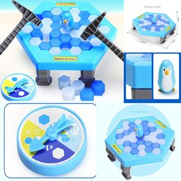 Wholesale Fall Toys - Free DHL Family Game Ice Breaking Save The Penguin The One Who Make The Penguin Fall Off Lose