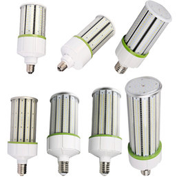 Wholesale Led Bulbs For Street Lights - High Power LED Corn Light Lamp Bulb Lighting For Street Hotel Mall Market SMD2835 30w 40w 60w 80w 100w 120w 150w corn bulb E27 E26 E39 E40