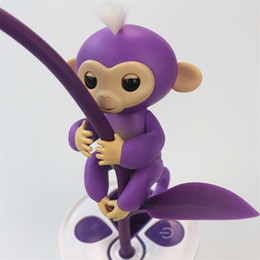 Wholesale Cute Plastic Straws - Fingerlings Toys Baby Monkey Wedding Favors Wedding Events Wedding Supplies Special Cute Chrismas Gifts 6 Colors