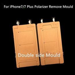 Wholesale Mold For Repairing Iphone - UV Glue Clean Polarized Film Removing Mold Mould Holder for iPhone7 7Plus 5 6 6P 6S 6SP LCD Repair Separator Tool