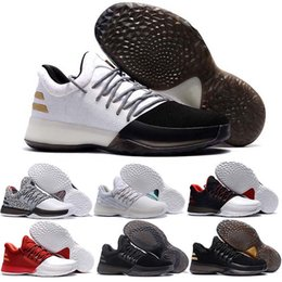 Wholesale Khaki Cargos - 2017 New Harden Vol.1 Men Basketball Shoes James Harden ALL-Star No Brakes BHM Black Gold Pioneer Home Cargo Christmas Shoes Sneakers