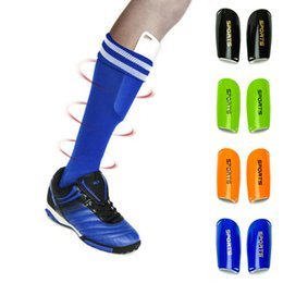 Wholesale Wholesale Pad Training - Wholesale- Professional Soccer Training Shin Guards Shin Pads Comfortable Football hiking Protector Leg Protector Sports Skating Shin Brace
