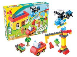 Wholesale Plastic Blocks For Babies - HPD Master Toddler Toys Blocks for Babies Building Block YY0830 Excavator Develop Child Intelligence Plastic Toys For Chidren Birthday Gift