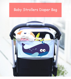 Wholesale Diaper Water - Crtarto Baby Stroller Bag Organizer Diaper Bag Mummy Stroller Travel Nappy Bags Water Bottle Diaper Storage Bag Stroller Accessories